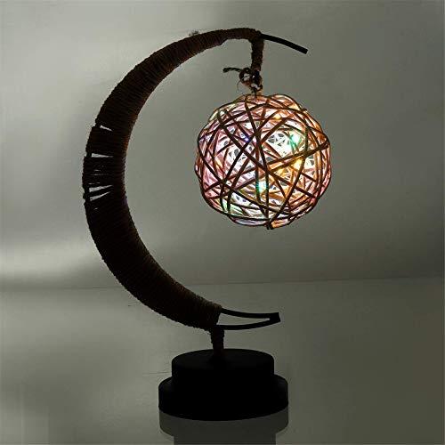 Lámparas De Escritorio De Oficina Luces De Noche LED 3D Que Deseen Batería De Lámpara De Mesa Decorativa Tecnología De Cuidado De La Vista (Size:27x4x13cm; Color:Four Colors)