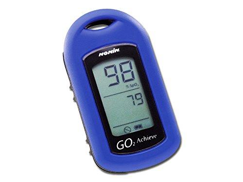 Go2 Nonin Fingertip Pulsoximeter - Blau