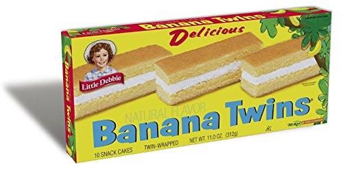 Little Debbie Snack Cakes (Banana Twins)