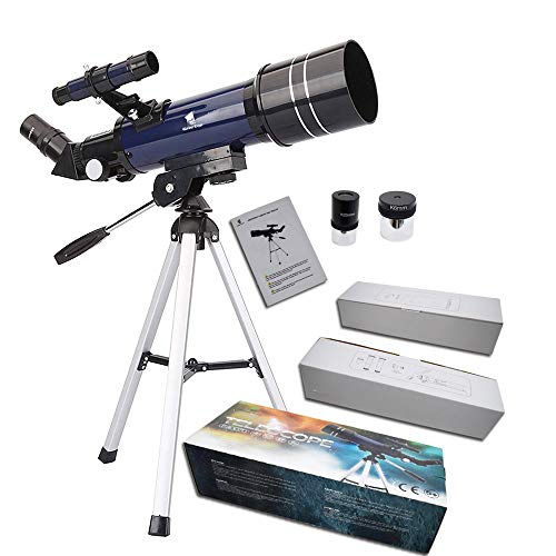 GEERTOP Telescope for Beginners 70mm Astronomy Refractor Travel Tabletop Scope with Adjustable Tripod, Christmas Birthday Gift for Kids Children