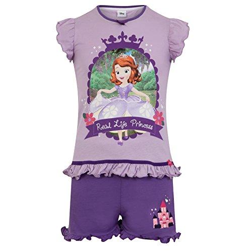 Disney Sofia die Erste - Mädchen Schlafanzug - kurz - Offizielles Merchandise - Geschenk für Kleinkinder - 18-24 Monate