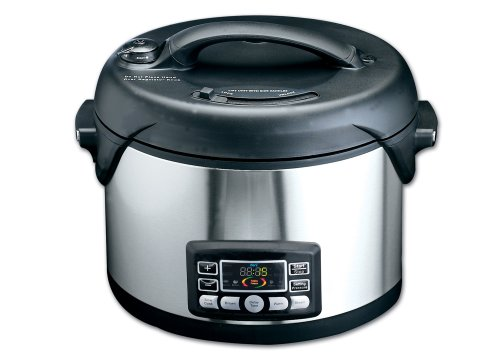 Deni 9780 Oval-Shaped 8-1/2-Quart Electric Pressure Cooker