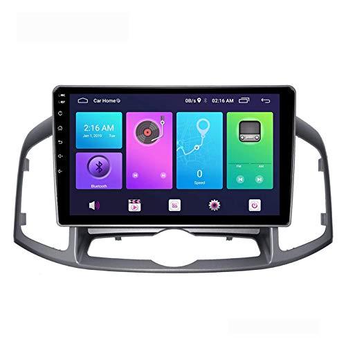 Unità principale stereo per auto Android 10.0 compatibile con CHEVROLET CAPTIVA 2012-2016 Navigazione GPS Lettore multimediale MP5 da 9 pollici Ricevitore video radio con 4G DSP Carplay, 4core 4g wif