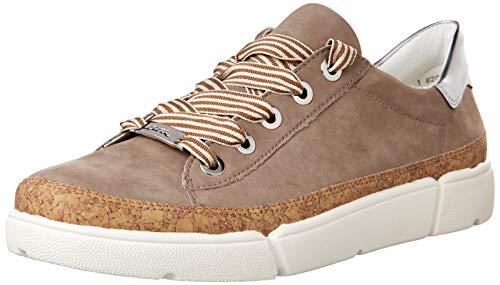 ara Women's Fashion Sneakers, Taupe,7 M US