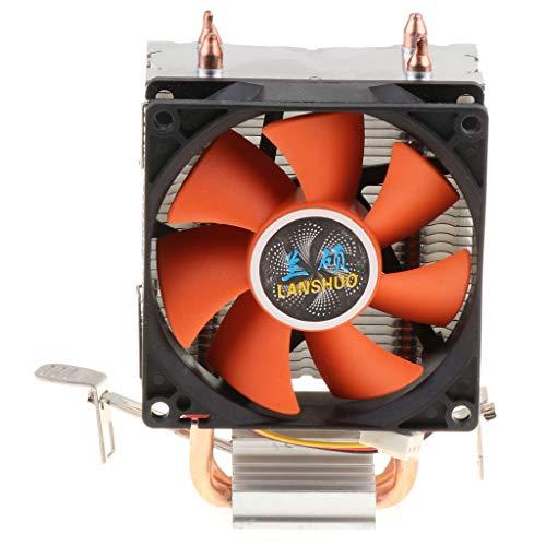 MagiDeal Ventilador de Refrigeración de CPU de 3 Pines de 90 Mm X 90 Mm, 12 V CC, Caja de Radiador para Computadora