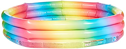 Intex- Piscina Geometria, Multicolore, 147x33 cm, 58439