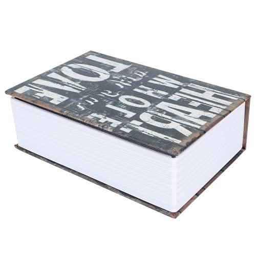 Rosvola Caja de Dinero, Gran Capacidad, diseño razonable, Mini Diccionario de simulación, Libro, Caja de Dinero, Caja Segura, para Oficina en casa