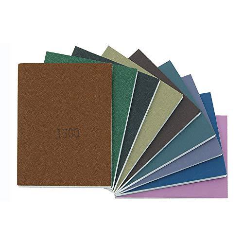 Micro-Mesh Soft Pads, 100 x 75 mm, Satz, 9-teilig