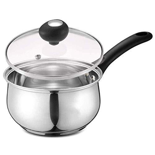 Roestvrij staal Melk Pot Mini Pot, verdikking Household Babyvoeding Supplement Small Stockpot HRSS