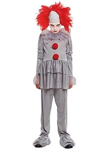 Partylandia Disfraz de Payaso Asesino de Cine Infantil - Niño, de 7 a 9 años, Halloween
