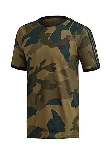 adidas Herren T-Shirt CAMO CALI T, Multicolor, XL, FM3351
