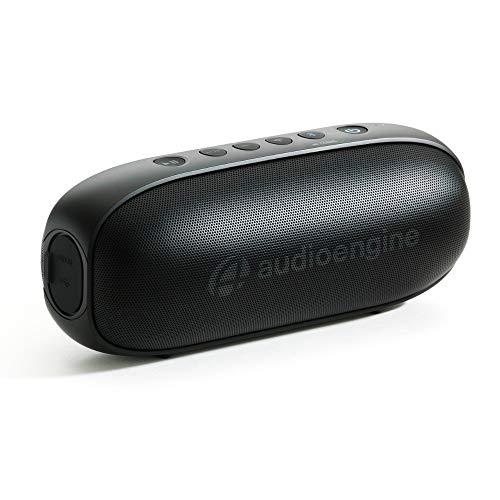Audioengine 512 Tragbare Bluetooth Lautsprecher | Audiophile Qualitäts-Bluetooth Speaker für zu Hause und unterwegs | Bluetooth Lautsprecher Boxen & 3,5 mm-Eingänge | 3 Jahre Garantie (schwarz)