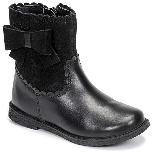 GEOX J SHAWNTEL Enkellaarzen/Low boots meisjes Zwart Laarzen