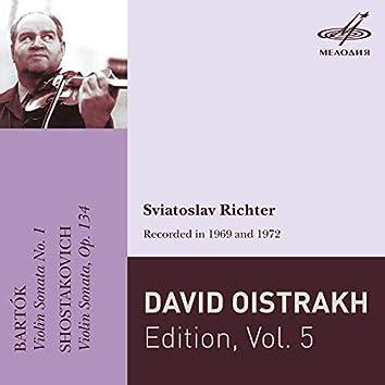 David Oistrakh Edition, Vol. 5 (Live)