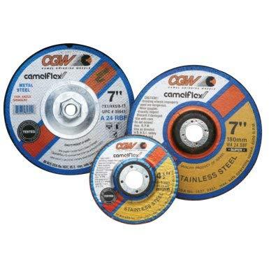 CGW Abrasives 35621 Same day shipping Depressed Center favorite Grinding Wheels- 1 Type 4