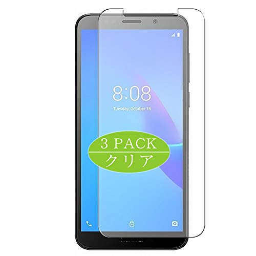 VacFun 3 Piezas HD Claro Protector de Pantalla Compatible con Huawei Y5 Lite, Screen Protector Sin Burbujas Película Protectora (Not Cristal Templado) New Version