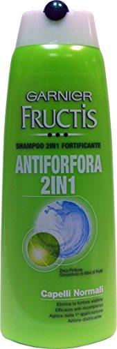 12 x FRUCTIS Shampoo Antiforfora 2 In 1 250 Ml