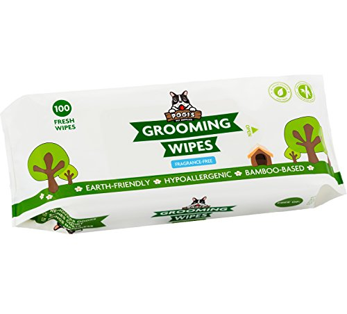 Pogi's Grooming Wipes - 100 Hypoallergenic Pet...