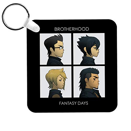 Cloud City 7 Final Fantasy Brotherhood Days Keyring