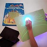 iLight - Nueva Pizarra Infantil Mágica de Dibujo con Luz - Juego de Pintar para Niños...