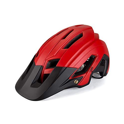 DAHU FahrradhelmRennrad Fahren Reflective Helm Integrated Molding Fahrradhelm REIT Männer Frauen MTB Fahrradzubehör Helm,C