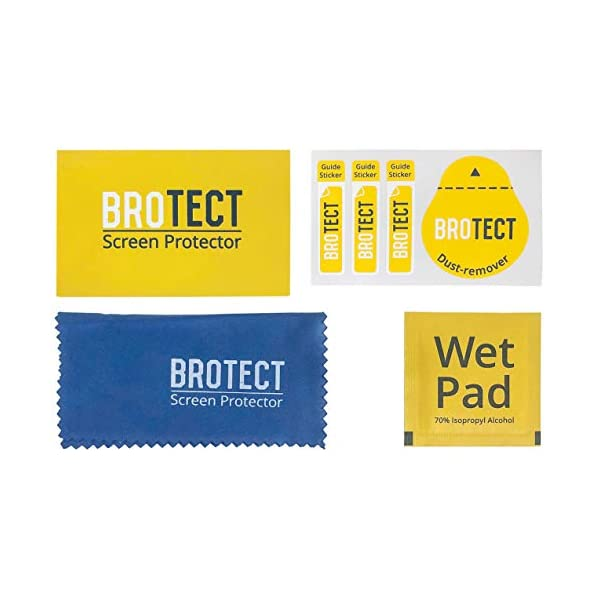 "BROTECT Protector Pantalla Completa Compatible con Willful Fitness Tracker 1.3"" (2 Unidades) 3D Curvo 7"