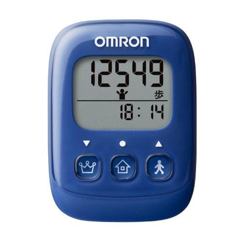 オムロン(OMRON) 歩数計 ブルー HJ-325-B