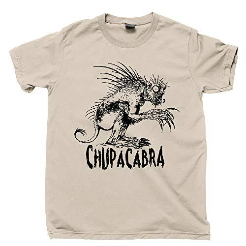 El Chupacabra T Shirt Figure Beast Creature Aliens Bigfoot Jackalope Mothman tee...