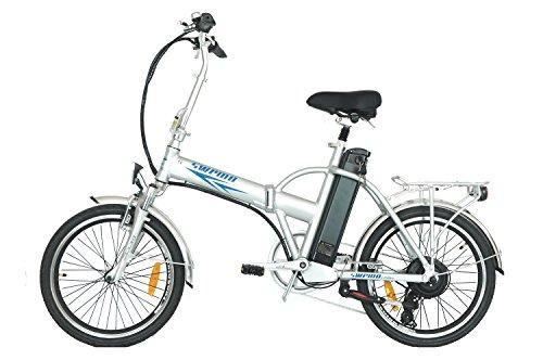 swemo 20 Zoll Alu Klapp E-Bike/Pedelec SW100 (Silber)*