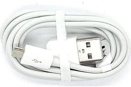 Cable de Datos Original Huawei Micro USB para Huawei P6, P7, P8 Lite, G6, G7, G8, Mate, Blanco
