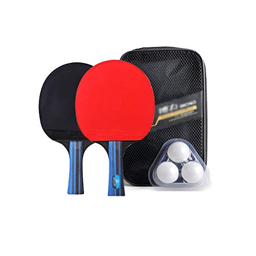 Amazing Deal LFLLFLLFL Ping Pong Paddle, Home Training Table Tennis Racket Family Leisure Sport Begi...