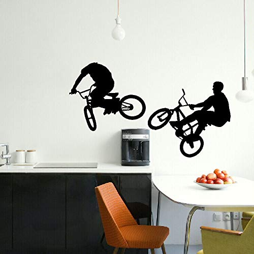 Zhuzhuwen Kwekerij Cloud Muurstickers Tramp, Grote Bmx Bike Kinderen, Giant Grafische Sti, Studio Sticker Kantoor Muursticker Vinyl