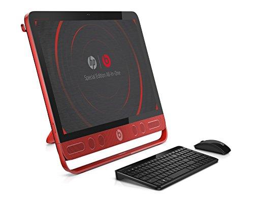 HP ENVY 23-n270na Beats 2.2GHz i7-4785T 23' 1920 x 1080Pixeles Pantalla táctil Negro, Rojo PC todo en uno - Ordenador de sobremesa All in One (58,4 cm (23'), Full HD, 4ª generación de procesadores Intel Core i7, 12 GB, 1000 GB, Windows 8.1)