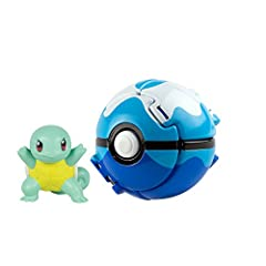 """Practice your Pokémon training skills! Each pack contains a detailed 2"""" figure and Poke ball Poke ball pops open when thrown and launches Pokémon into battle Gotta catch 'em all Suitable for ages 4 years and up"""