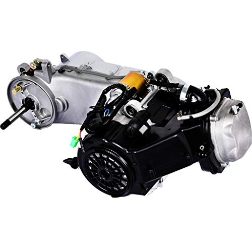 Wotryit Long Case 150CC 4-Stroke GY6 Auto Moped Scooter Engine Motor 150 CVT US Stork