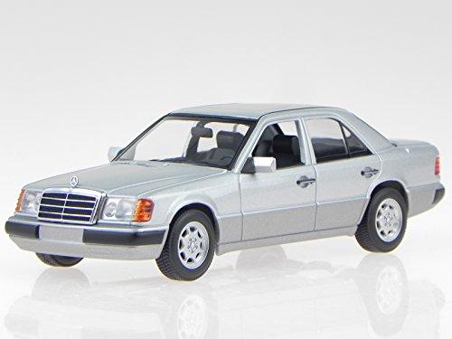 Mercedes W124 230E 1991 silber Modellauto 940037000 Maxichamps 1:43
