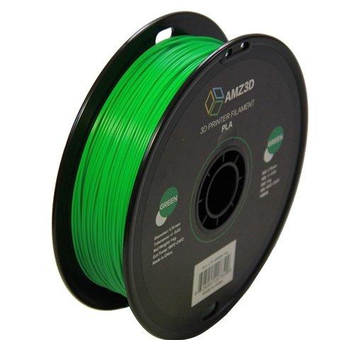 1.75mm grüner PLA 3D Drucker Filament - 1kg Spule (2.2 lbs) - Maßgenauigkeit +/- 0.03mm
