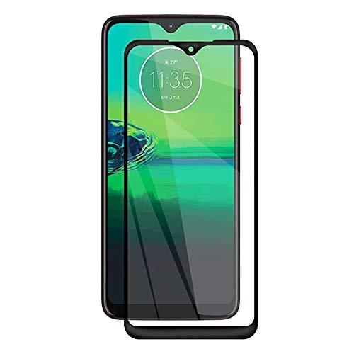 """Película De Vidro Temperado 3D Full Cover Para Motorola Moto G8 Play Com Tela De 6.2"""" - Proteção Blindada Top Premium Que Cobre Toda A Tela - Danet"""