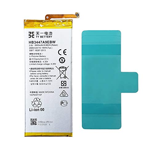 [TY BETTERY] Batteria compatibile con HB3447A9EBW Huawei P8