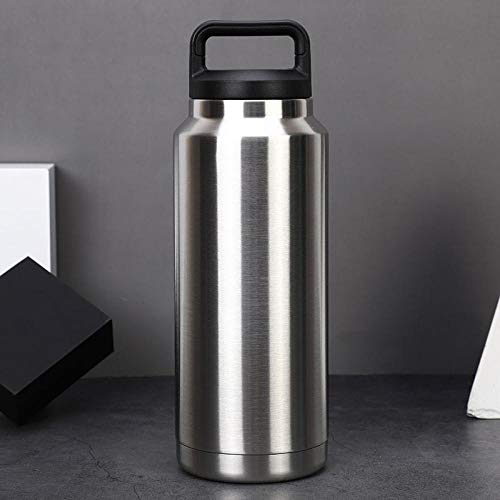 FPXNBONE Isolierflasche Stainless King,Vakuumisolierter Edelstahltopf, Outdoor-Sportbecher-36oz,Vakuum Isolierte Edelstahl Trinkflasche