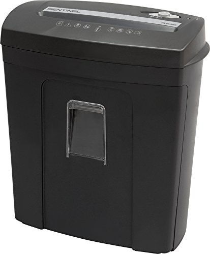 Sentinel FM80P on Guard 8 Sheet Microcut Paper Shredder with Pullout Bin Shredder