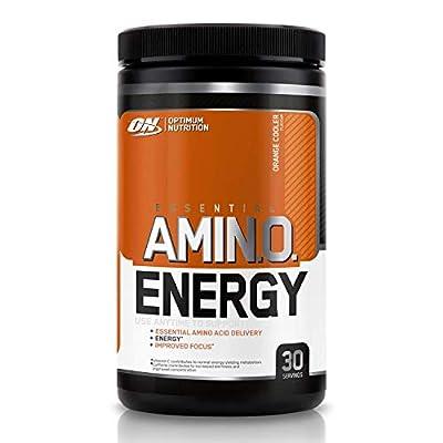 Optimum Nutrition Amino Energy Pre Workout Powder Keto Friendly with Beta Alanine, Caffeine, Amino Acids and Vitamin C, Orange Cooler, 30 Servings, 270 g