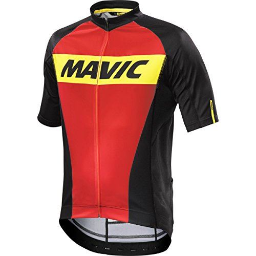 MAVIC Cosmic Fahrrad Trikot kurz rot/schwarz 2016: Größe: XL (54/56)