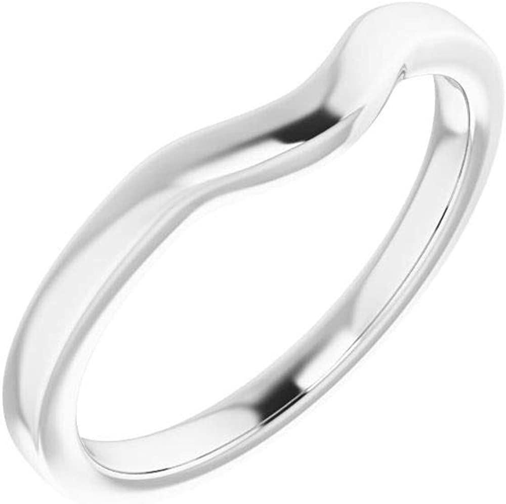 Solid 10K Inventory cleanup selling sale Popularity White Gold 8x4mm Marquise - Size Band 7