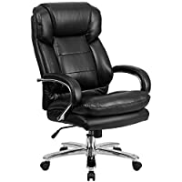 If your workday doesn't stop at 5 or the person working the next 8 hours just sat down, you need a chair that can keep up. This 24/7 intensive use Big & Tall LeatherSoft executive chair with generous padding and adjustable features will easily handle...