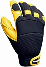 Big TIME Products 9914-23 Leather Hybrid Gloves, X-Large