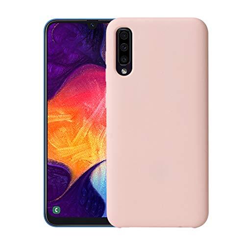 Kinter Compatibel met Samsung Galaxy A40 hoes stootvaste bescherming TPU ultradun silicone beschermhoes telefoonhoes