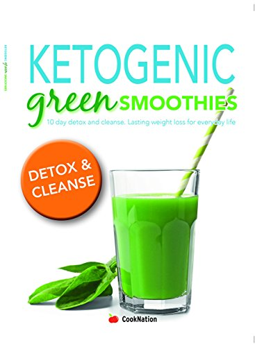 Green smoothies for life, 10-day cleanse, recipe book and ketogenic 4 books collection set 2