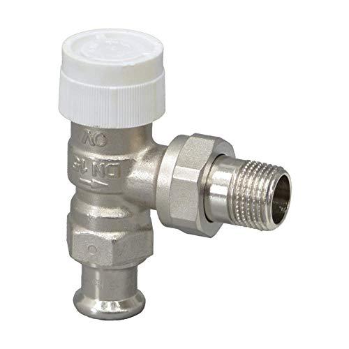 Oventrop Thermostatventil AV9 Pressanschluss 15mm Eck DN15 1183775