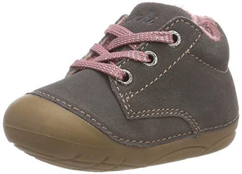 Lurchi Baby-Mädchen Flori Sneaker, Grau (Grey Rose 25), 21 EU